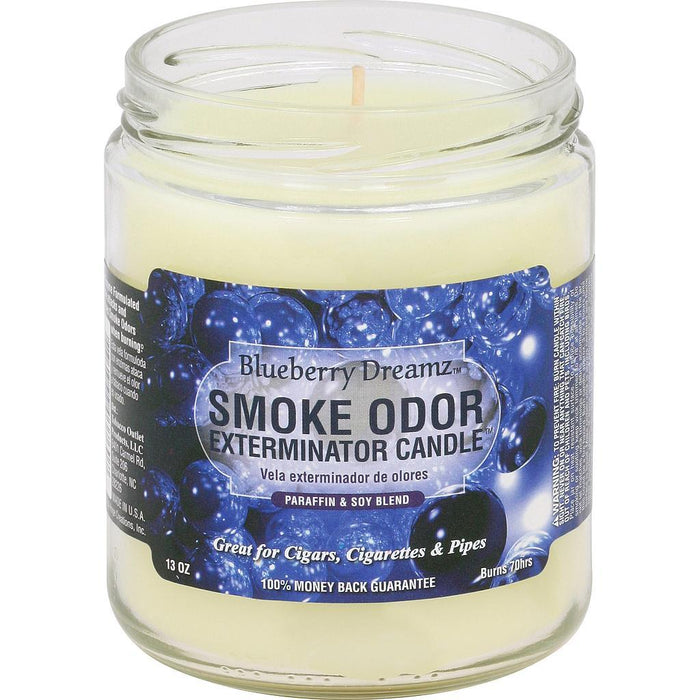 Smoke Odor Candle Limited Edition 13oz Blueberry Dreams - Smoke Odor
