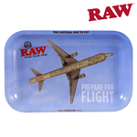 "Rolling Tray Raw Flying High SM 11"" x 7"" x 0.8"" - Raw"