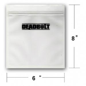 Deadbolt Smell Proof Bag 6x8