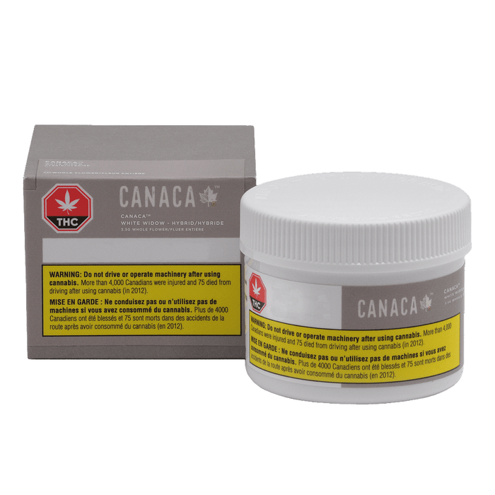 Dried Cannabis - Canaca White Widow Flower - Format: - Canaca