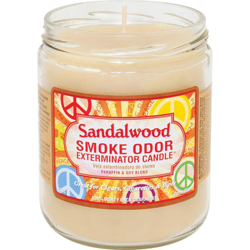 Smoke Odor Candle 13oz Sandalwood