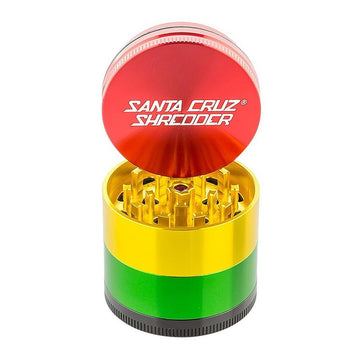 Grinder - Santa Cruz Shredder - 4-Piece Medium Rasta