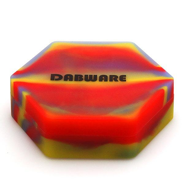 RTL - DabWare Mega Hexagon 8 in 1 110ml Silicone Container - Dabware