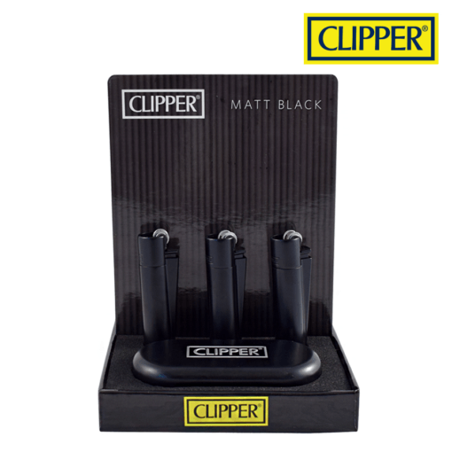RTL - Clipper Round Gradient Matte Black CMP11 Metal - Clipper