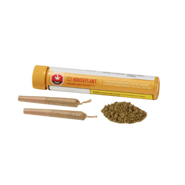 Dried Cannabis - MB - Houseplant Sativa Pre-Roll - Grams: - Houseplant