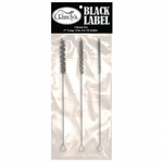 "Randy's 3-Brush Set (7"" Long: 3/16"", 1/4"", 3/8"" Width) - Nylon & Galvanized Steel - Randy's"