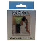 Glass Bowl Karma 14mm Slyme Hook - Karma