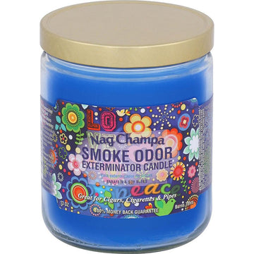 Smoke Odor Candle 13oz Nag Champa
