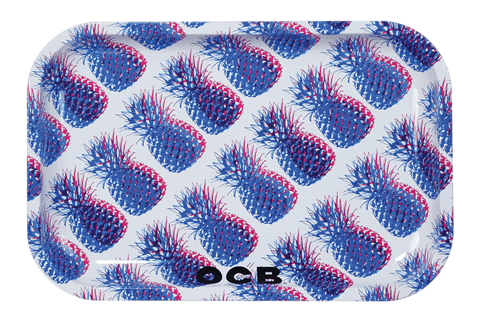Rolling Tray OCB Metal Tray OCB Pineapple Medium - OCB