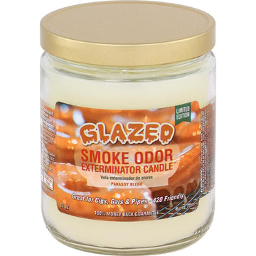 Smoke Odor Candle 13oz Limited Edition Glazed