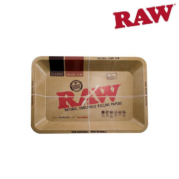 "Rolling Tray RAW Metal Mini 7.2"" x 5"" x0.88"""