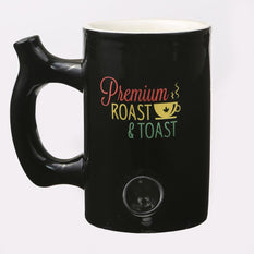 Ceramic Roast And Toast Mug Pipe Large - Roasted and Toasted