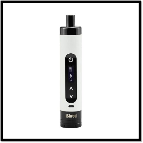 **DISCONTINUED** Yocan IShred Dry Vaporizer Kit Grinder Combo - Yocan