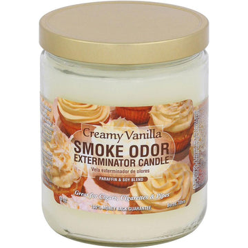 Smoke Odor Candle 13oz Vanilla