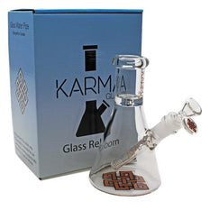 "Glass Bong Good Karma 7"" Mini Beaker - Karma"