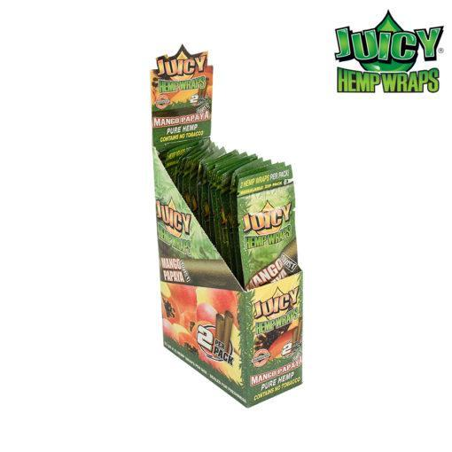 RTL - Juicy Jay Hemp Wrap Mango Papaya - Juicy Jay