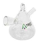 Doobie Bubbler Tree Glass Pyramid - Tree Glass