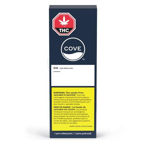 Dried Cannabis - SK - Cove Lime Green Crush Rise Pre-Roll - Format: - Cove
