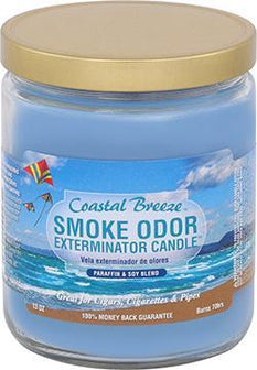 SO Candle 13oz LE Coastal Breeze - Smoke Odor