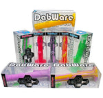 "Silicone Bong Dabware Platinum 14"" Straight Shooter 2PC - Dabware"