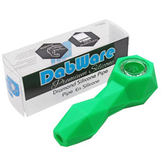 Silicone Pipe Dabware Platinum Diamond - Dabware