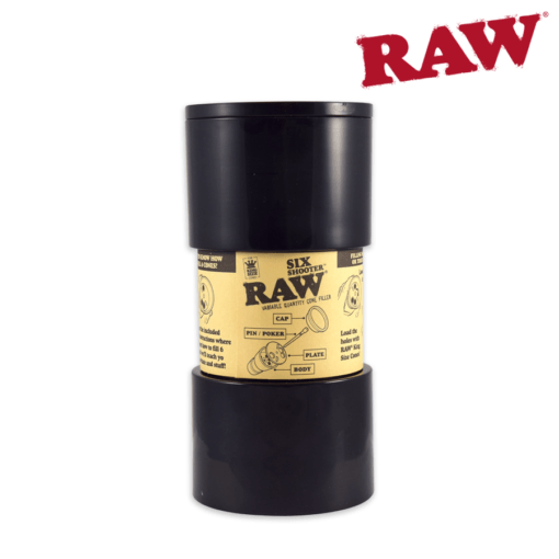 Raw Six Shooter King Size Cone Filler - The Joint Cannabis