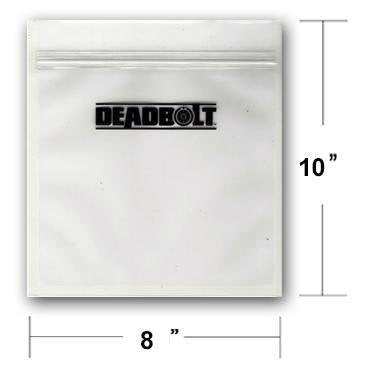 Deadbolt Smell Proof Bag 8x10 - Deadbolt