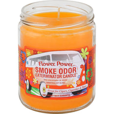 Smoke Odor Candle 13oz Flower Power - Smoke Odor