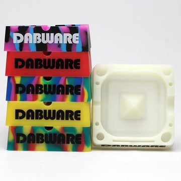 "Ashtray - Silicone - DabWare 5"" Square"