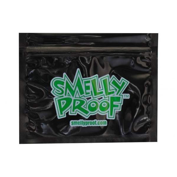 Smelly Proof Bag Black Small 7 x 5.5 - Smelly Proof