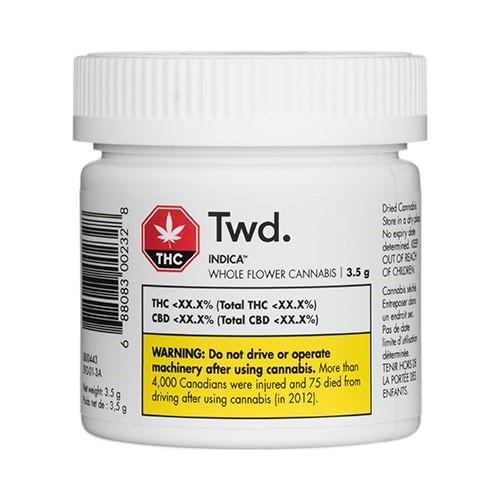 Dried Cannabis - SK - TwD Indica Flower - Format: - TwD