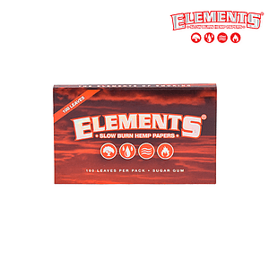 RTL - Rolling Papers Elements Red Single Wide