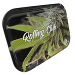 Rolling Club Metal Rolling Tray - Medium - Perfect Crop - Rolling Club