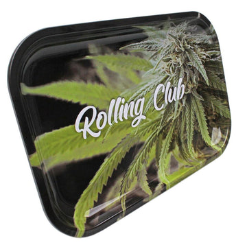 Rolling Club Metal Rolling Tray - Medium - Perfect Crop
