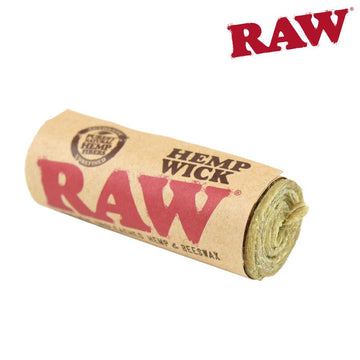 RTL - Raw Hemp Wick 20ft
