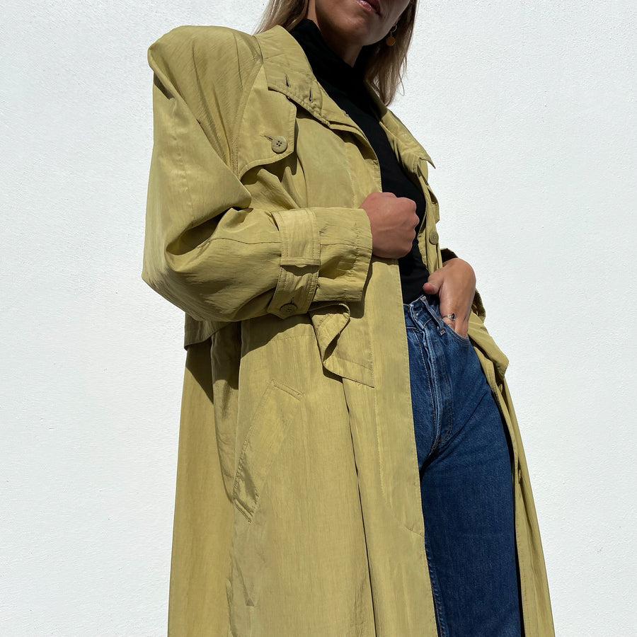 Vintage Extra long Trench coat