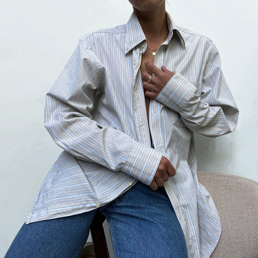 Vintage Striped La Coste button-up