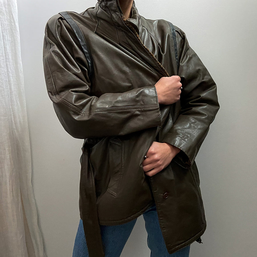 Vintage 80's Leather jacket