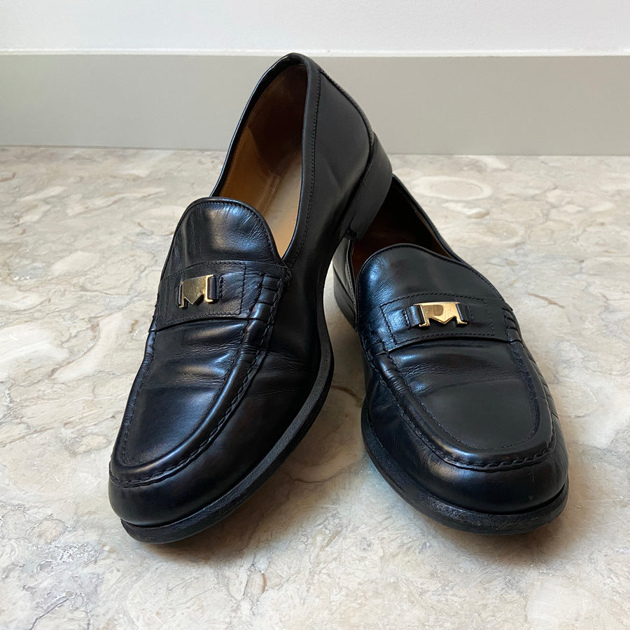 Vintage Max Mara leather loafers