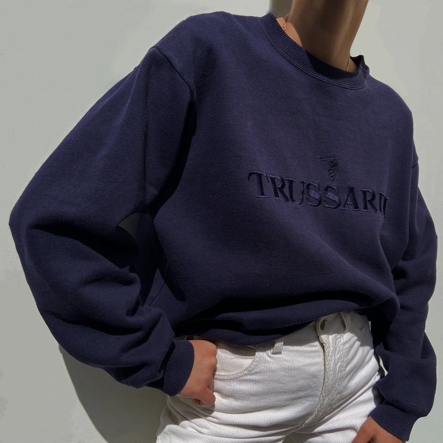 Vintage Trussardi Navy sweater