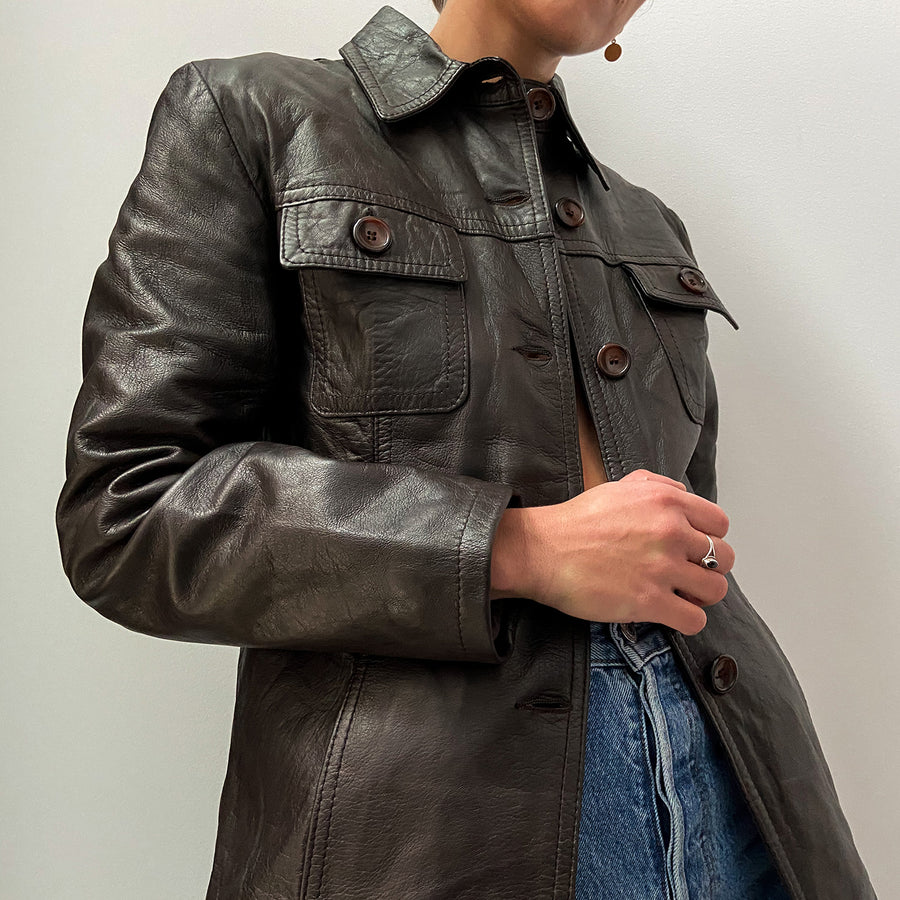 Vintage 70's Genuine Leather jacket