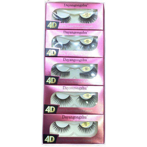 DAYANGONGZHU 4D- 100% NATURAL EYELASH- 1 PIECE - Shopnonstop