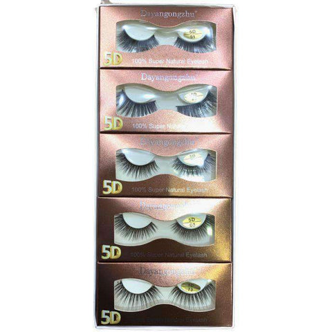 DAYANGONGZHU 5D- 100% NATURAL EYELASH- 1 PIECE - Shopnonstop