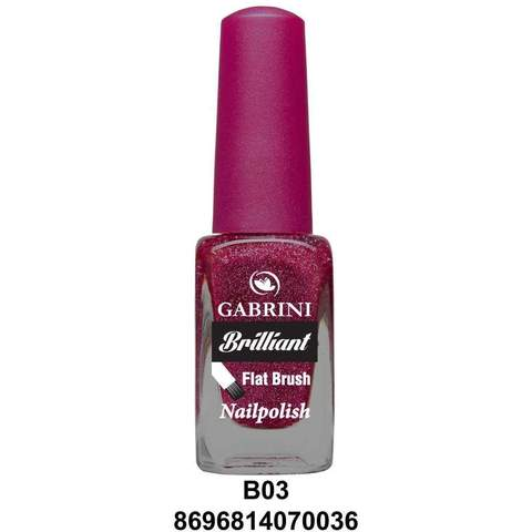 GABRINI- BRILLIANT NAIL POLISH # 03 - Shopnonstop