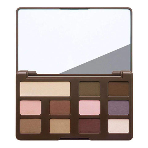 MATTE CHOCOLATE CHIP EYE SHADOW PALETTE COCOA POWDER-INFUSED MATTE EYE SHADOW COLLECTION - Shopnonstop