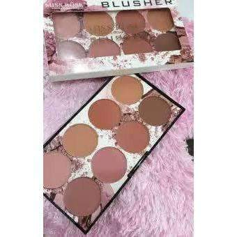 MISS ROSE 8 COLOR BLUSHER - Shopnonstop