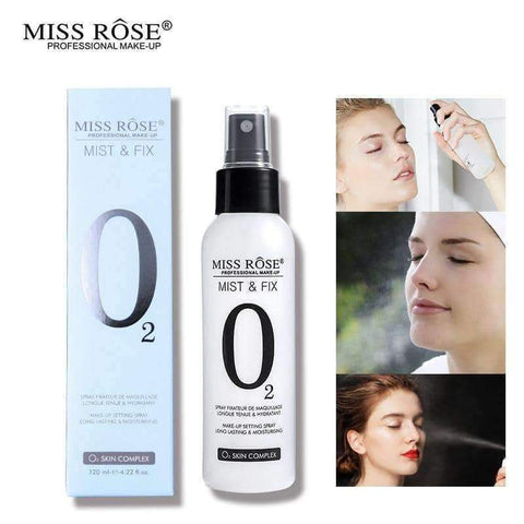 MISS ROSE O2 Mist & Fix Setting Spray - Shopnonstop
