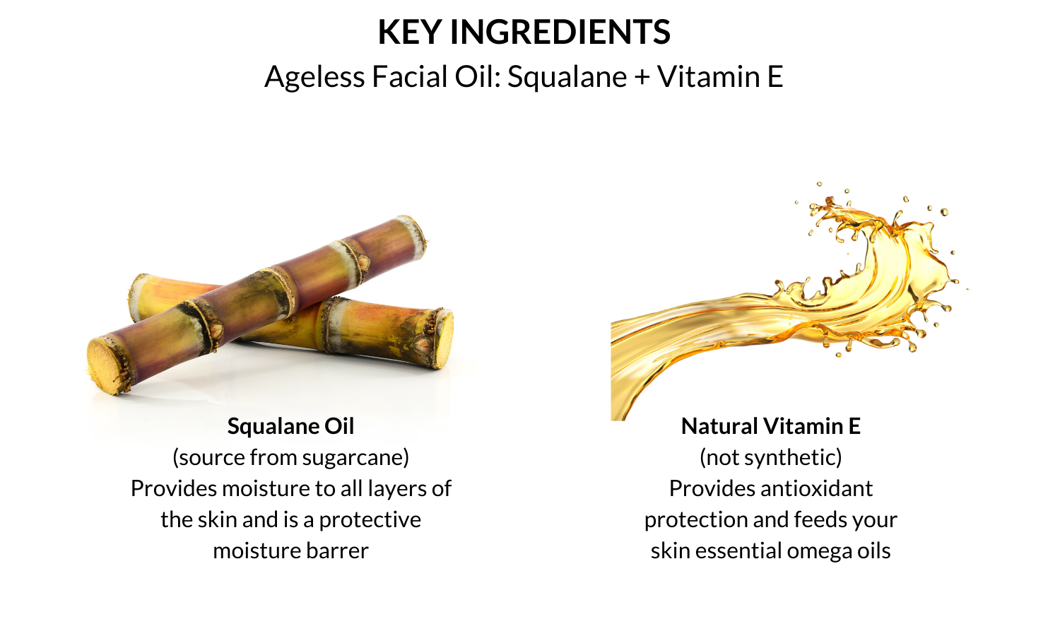 Award-Winning Ageless Facial Oil Squalane + Vitamin E
