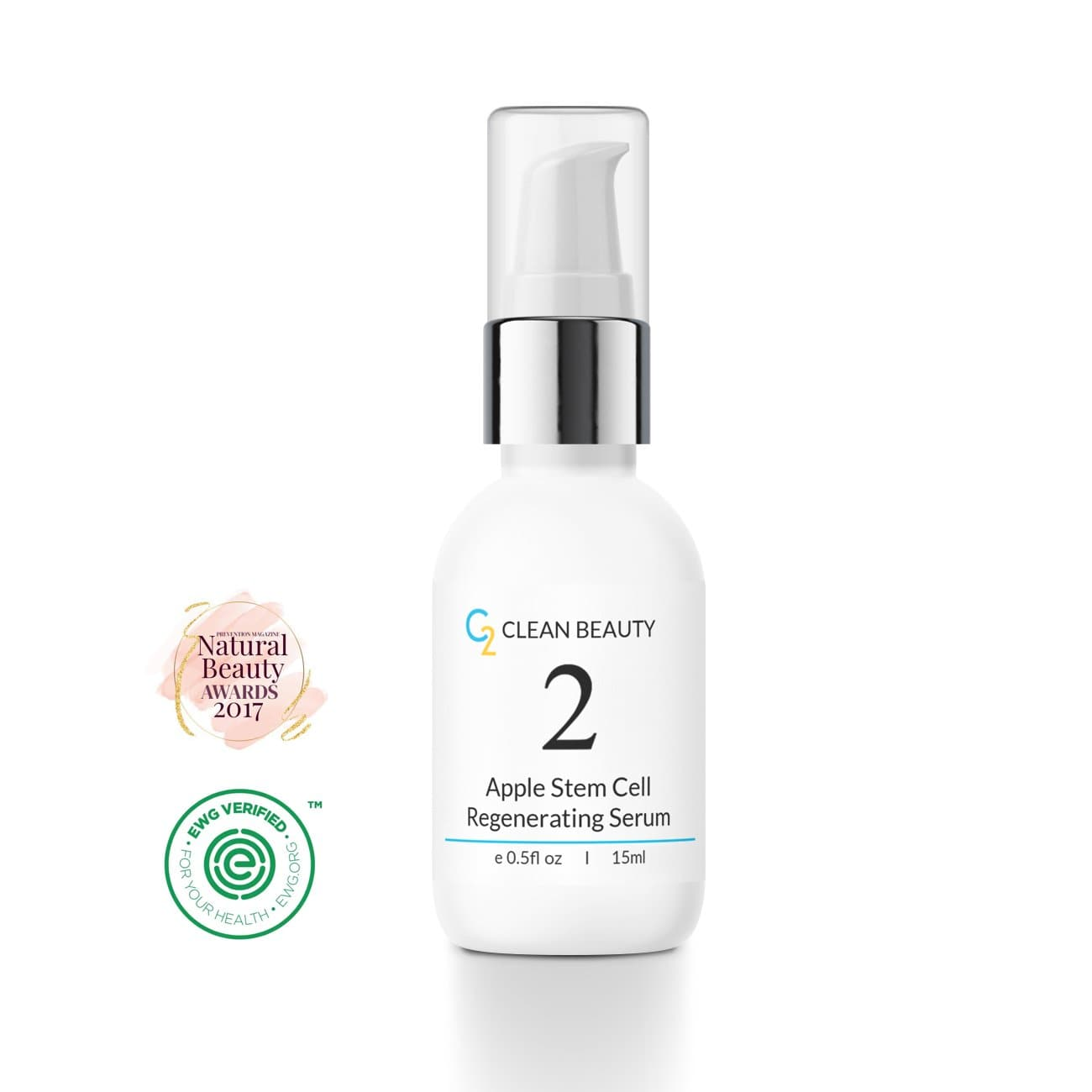 Award Winning Apple Stem Cell <br>Regenerating Serum