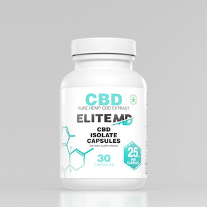 CBD 25mg Pure Isolate Capsules